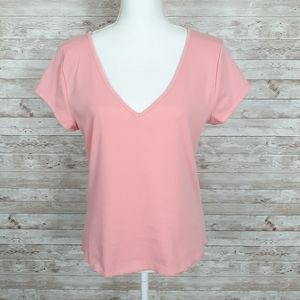 Wild Fable Cropped Tee Peach Short Sleeve 466
